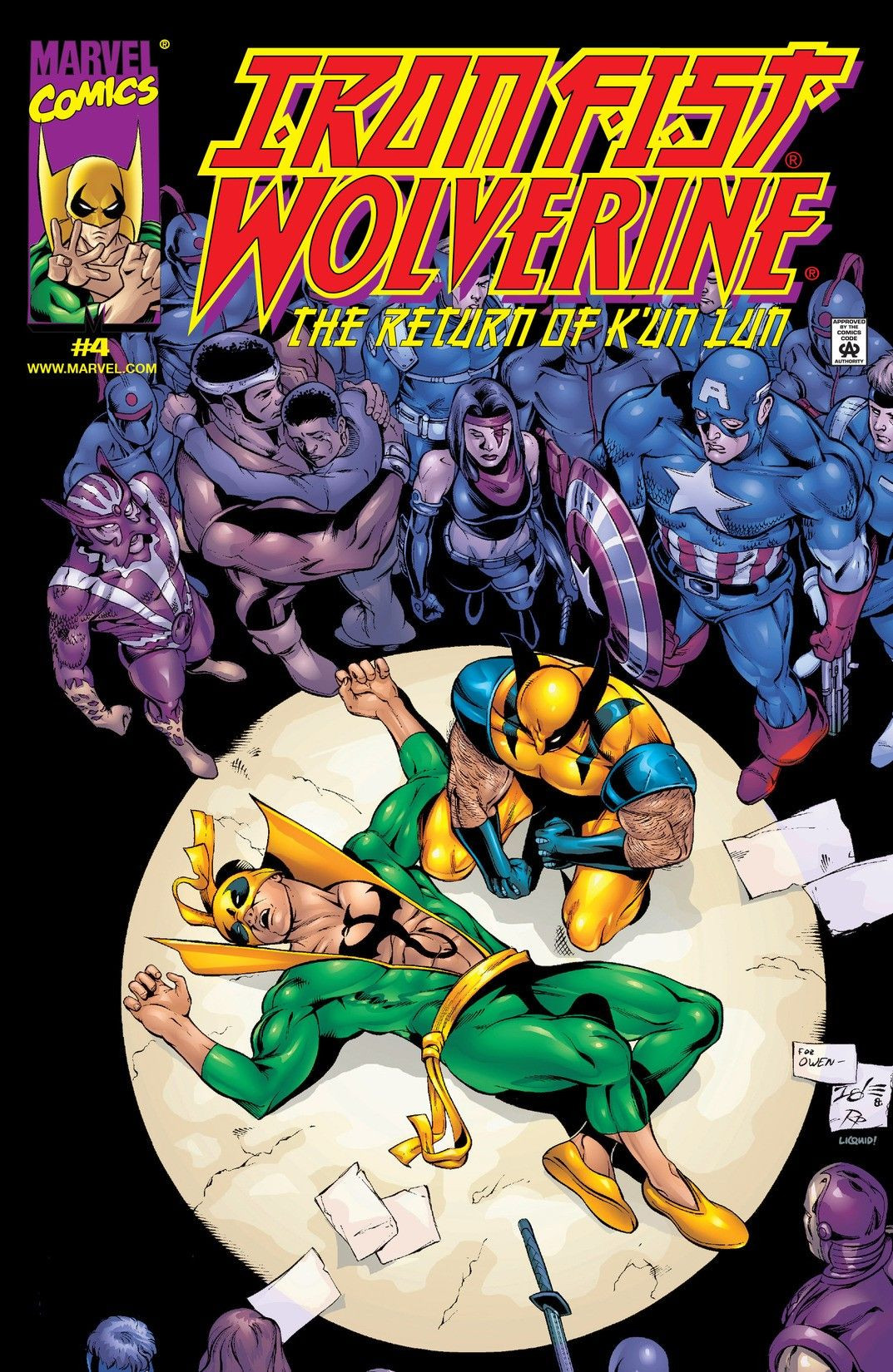 Iron Fist: Wolverine Vol 1 4