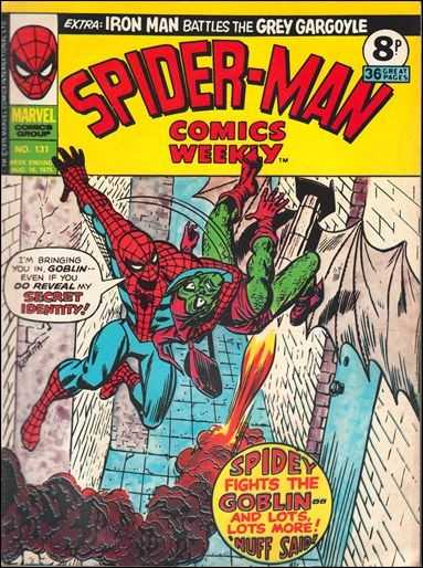 Spider-Man Comics Weekly Vol 1 131
