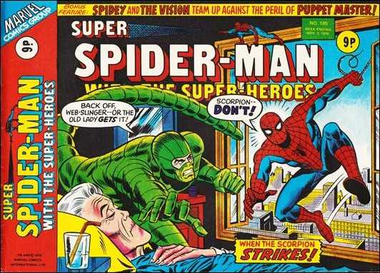 Super Spider-Man with the Super-Heroes Vol 1 195