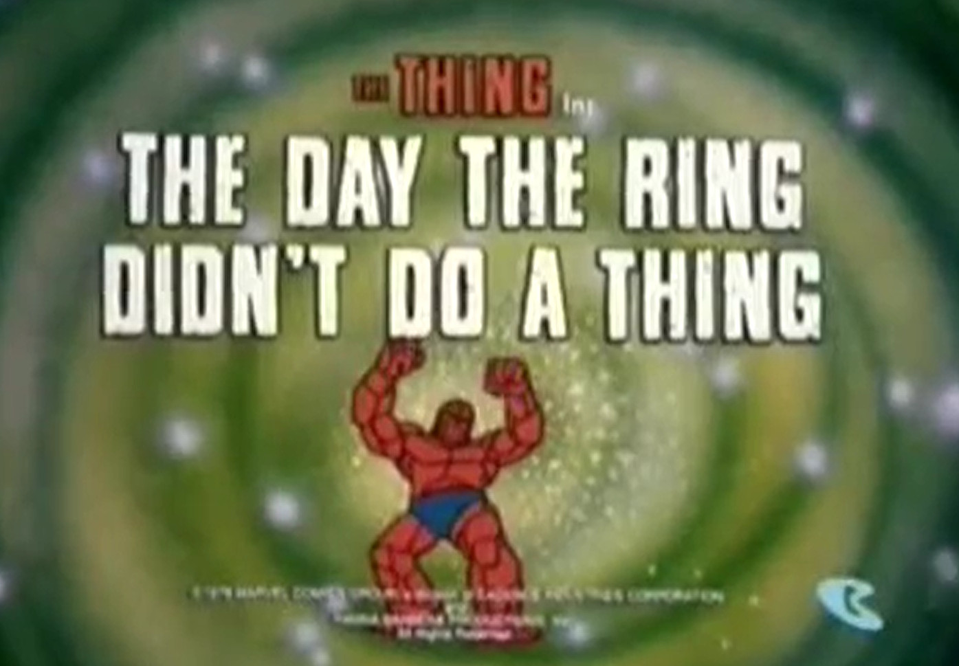 The Thing (animated series) Season 1 18