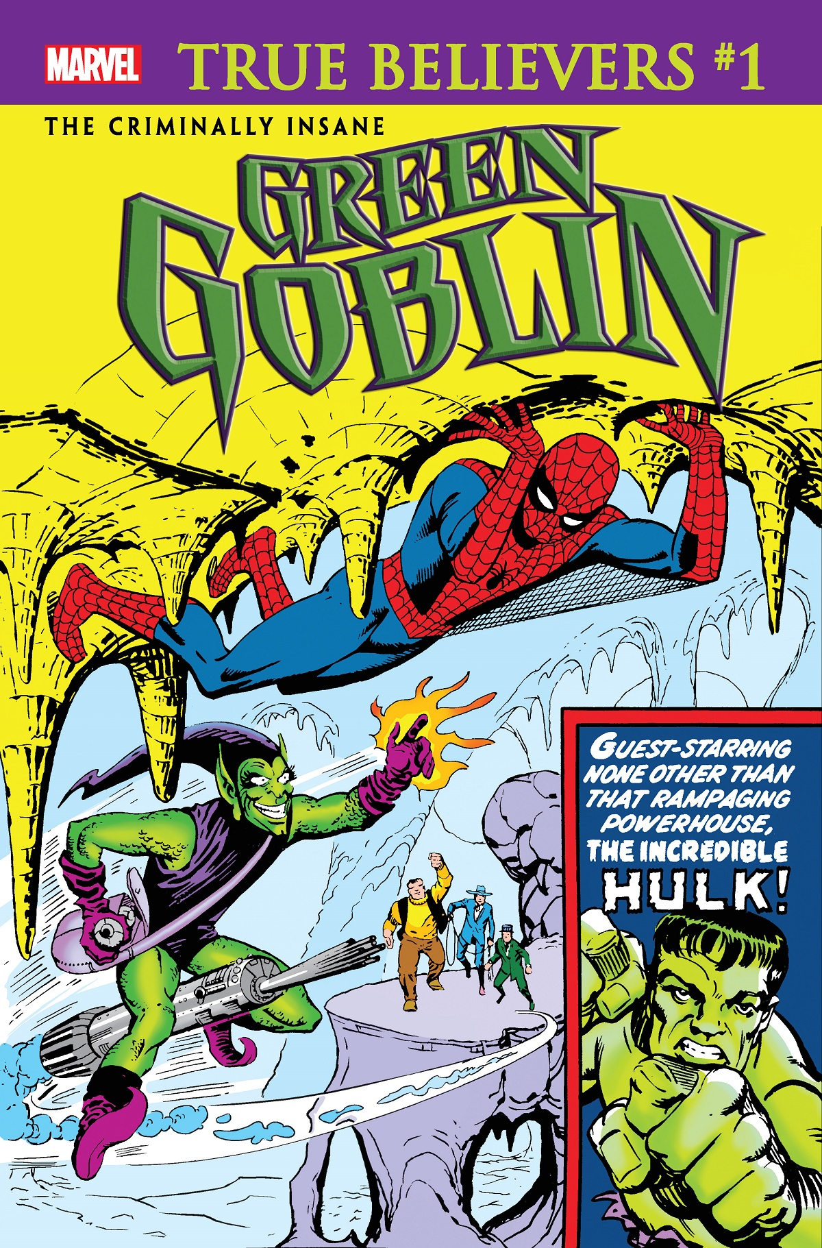 True Believers: The Criminally Insane - Green Goblin Vol 1 1