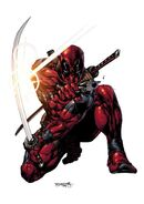 Deadpool Vol 4 13 70th Frame Variant Textless