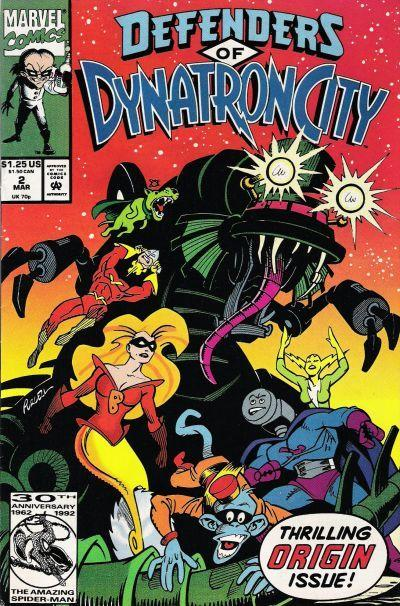 Defenders of Dynatron City Vol 1 2
