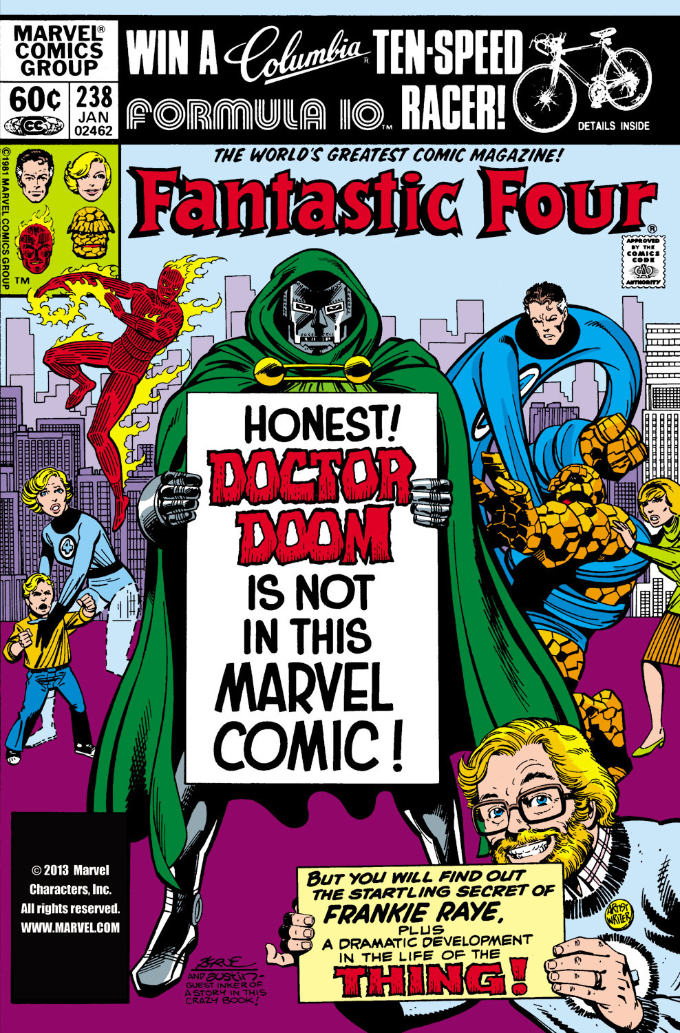 Fantastic Four Vol 1 238