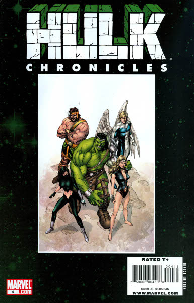 Hulk Chronicles: WWH Vol 1 4