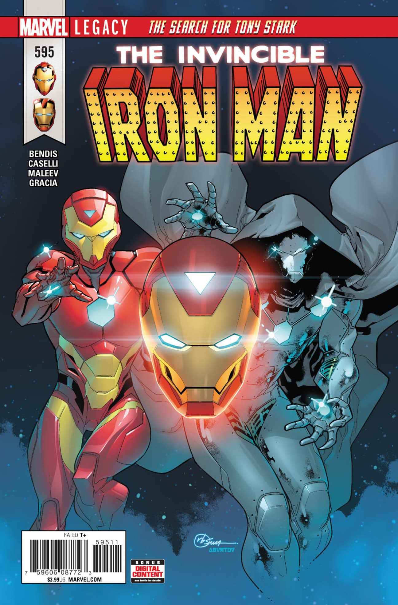 Invincible Iron Man Vol 1 595