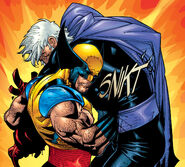 James Howlett (Earth-616) and Max Eisenhardt (Earth-616) from X-Men Vol 2 113 001