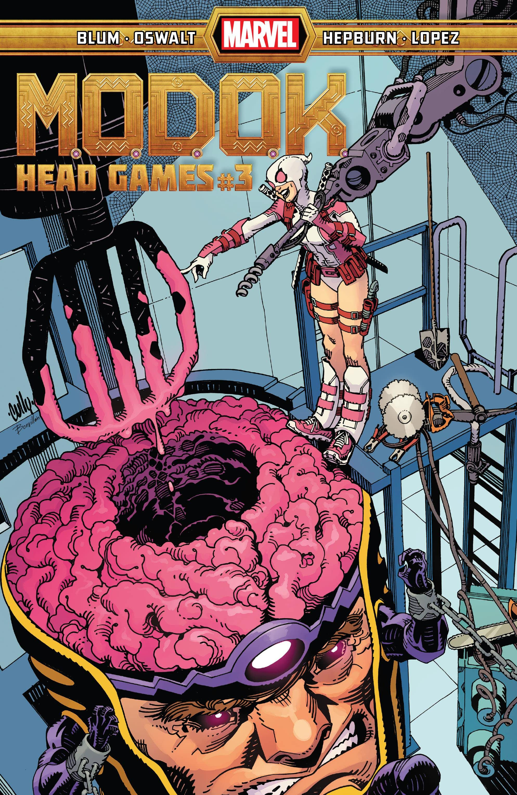 M.O.D.O.K.: Head Games Vol 1 3
