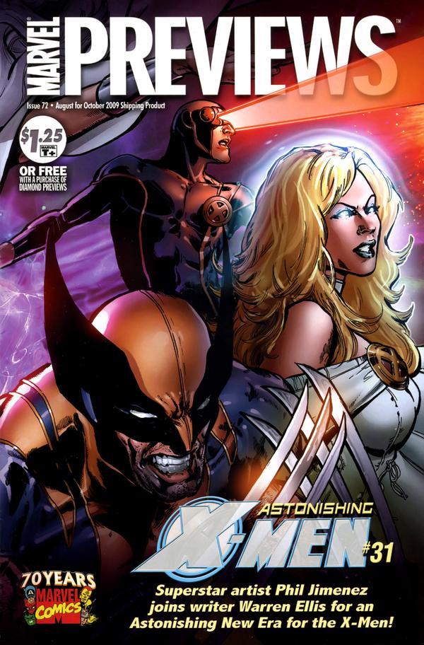 Marvel Previews Vol 1 72