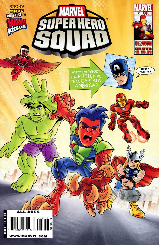 Marvel Super Hero Squad Vol 1 2