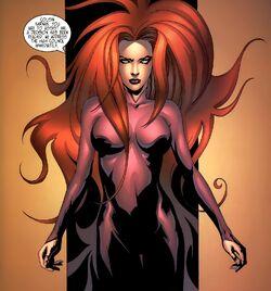 Medusalith Amaquelin (Earth-616) addresses a crisis from Inhumans Vol 2 6.jpg