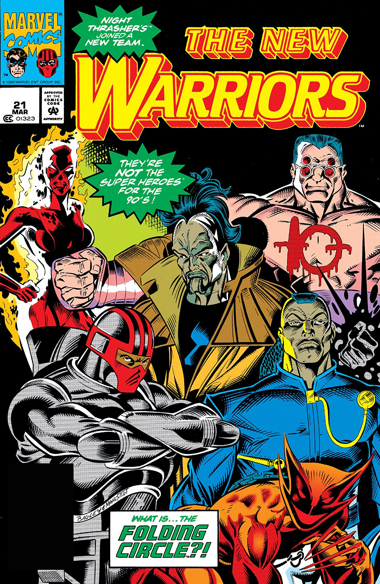 New Warriors Vol 1 21