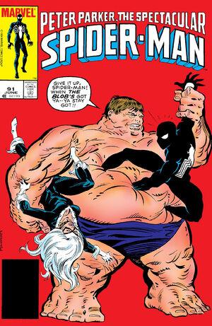 Peter Parker, The Spectacular Spider-Man Vol 1 91.jpg