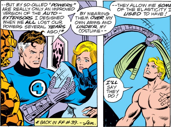 Reed Richards (Earth-616) mechanical arms Mk II from Fantastic Four Vol 1 185.jpg
