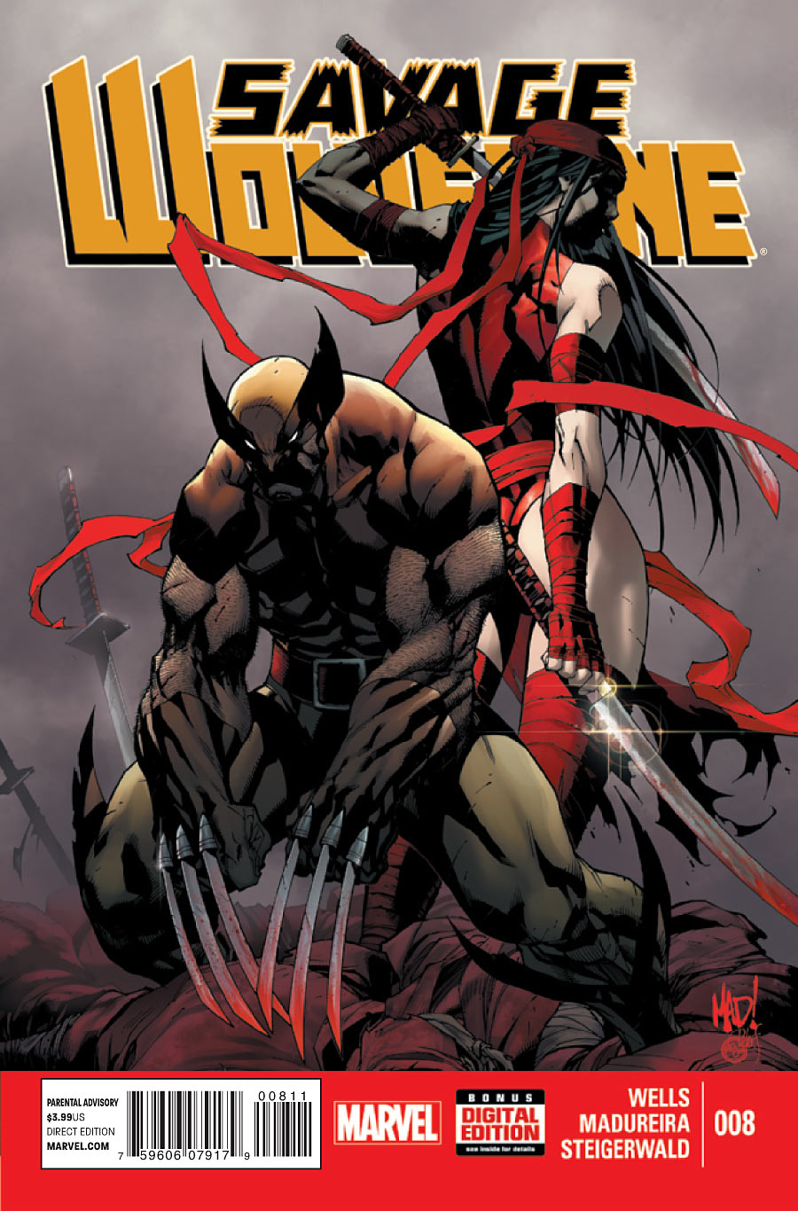 Savage Wolverine Vol 1 8