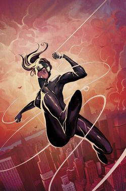 Spider-Girl Vol 2 1 Del Mundo Variant Textless.jpg
