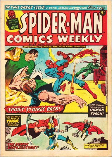 Spider-Man Comics Weekly Vol 1 13