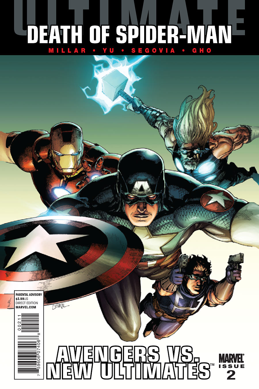 Ultimate Avengers vs. New Ultimates Vol 1 2