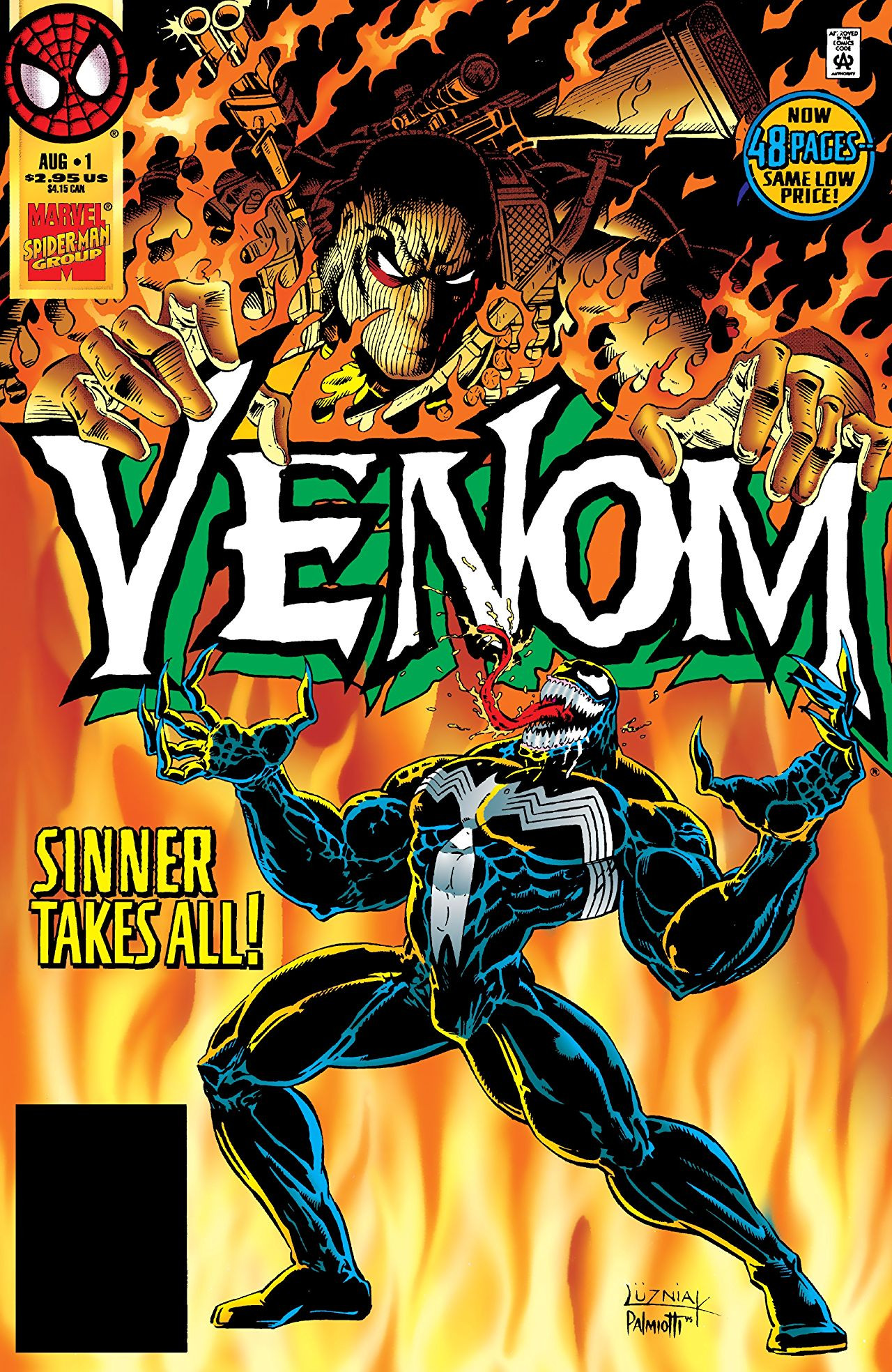 Venom: Sinner Takes All Vol 1 1