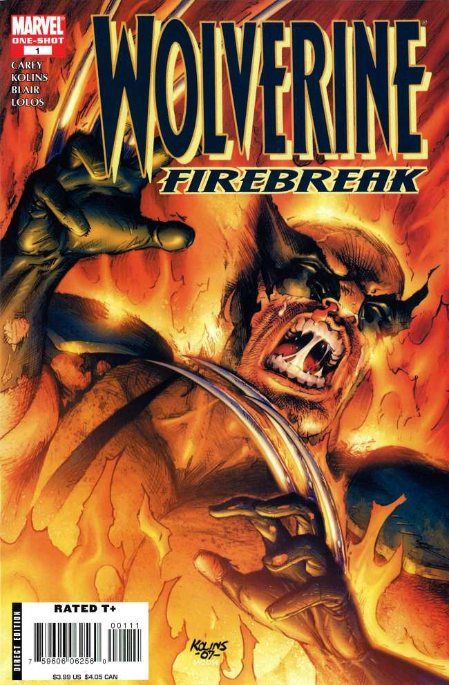 Wolverine: Firebreak Vol 1 1
