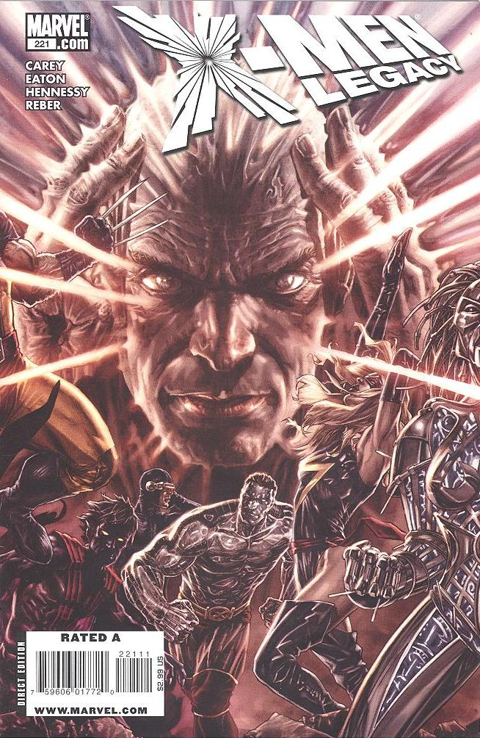 X-Men: Legacy Vol 1 221