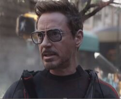 Anthony Stark (Earth-199999) and Tony Stark's Sunglasses from Avengers - Infinity War 002.jpg