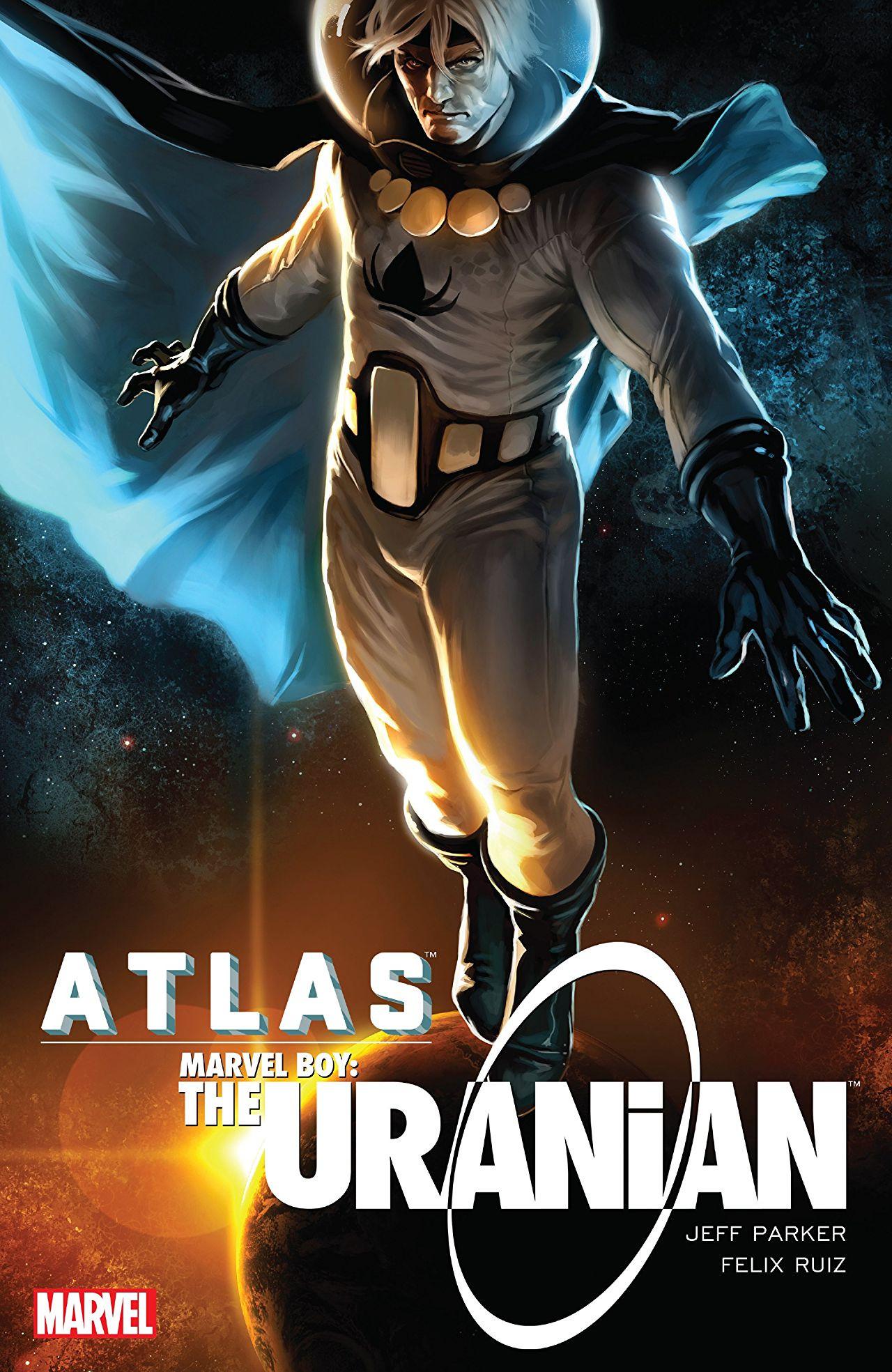 Atlas: Marvel Boy - The Uranian TPB Vol 1 1