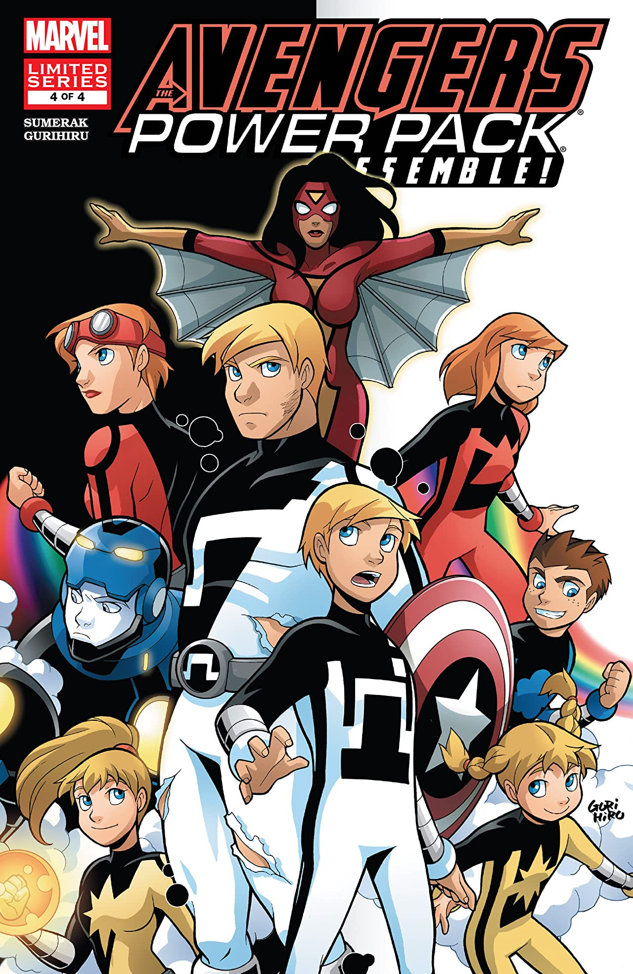 Avengers and Power Pack Assemble! Vol 1 4