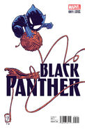 Black Panther Vol 6 1 Young Variant