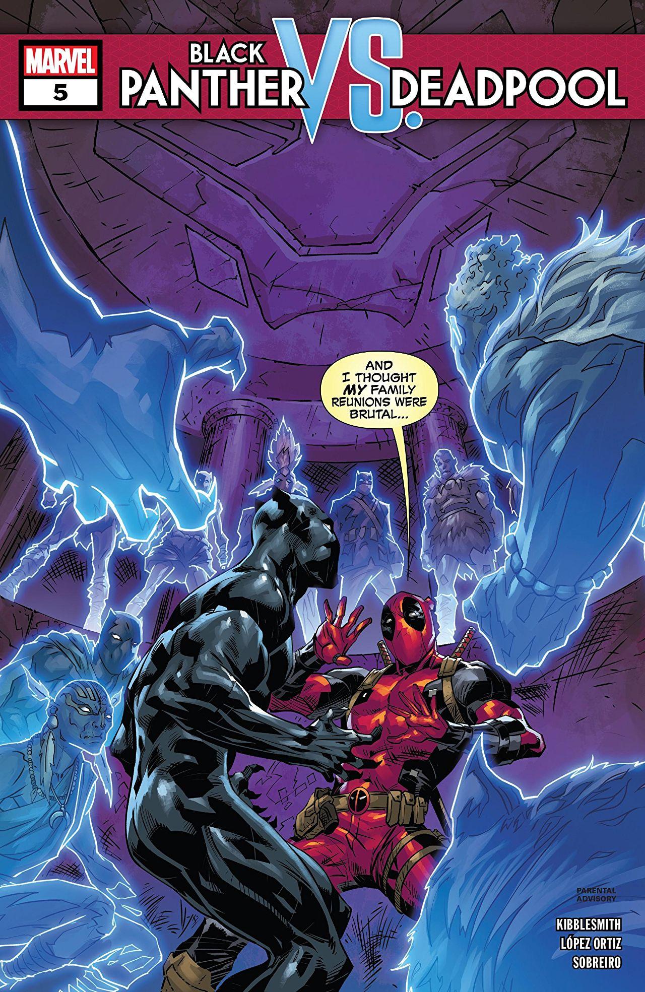 Black Panther vs. Deadpool Vol 1 5