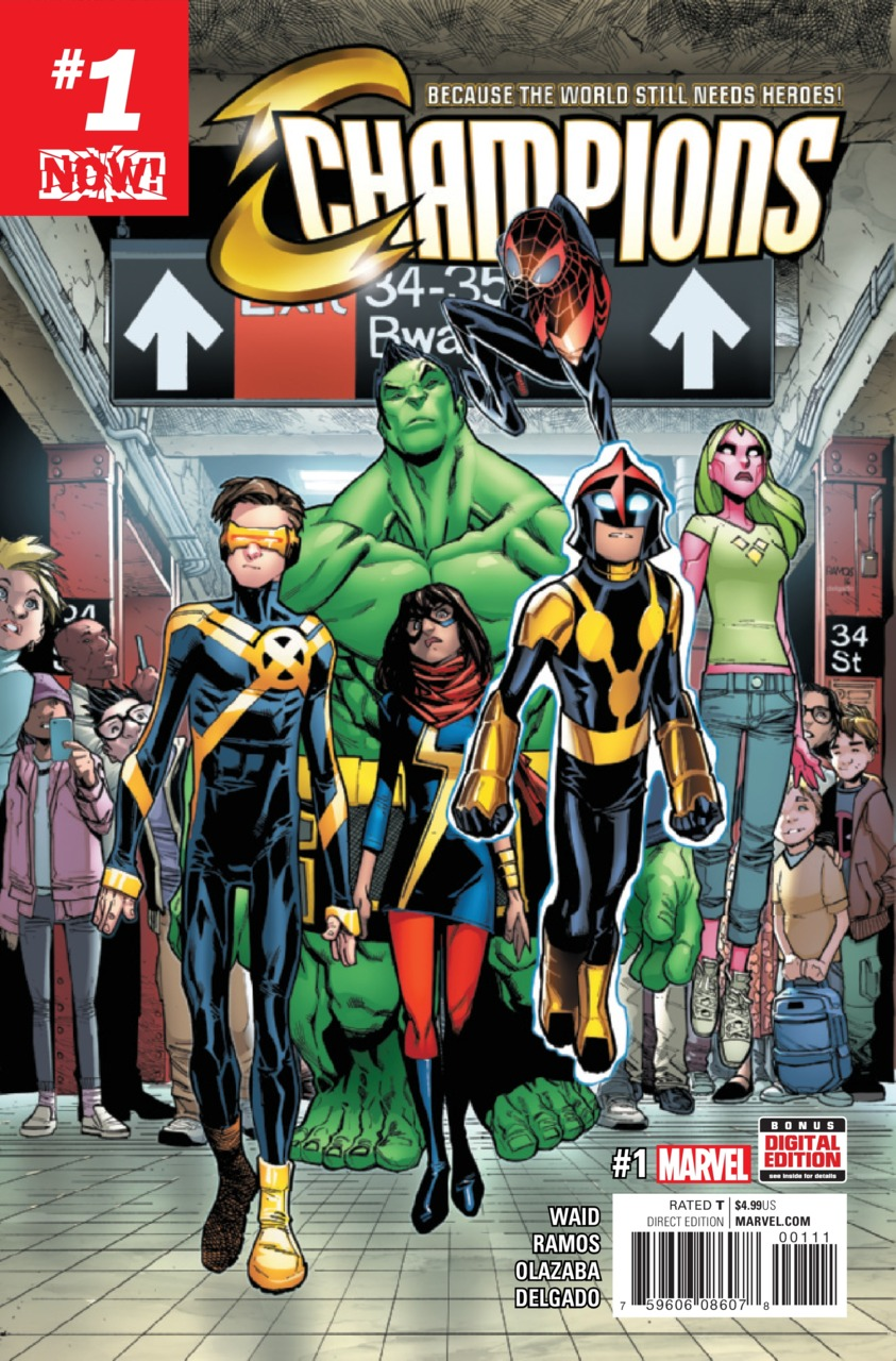Champions: Because The World Still Needs Heroes Vol 1 1