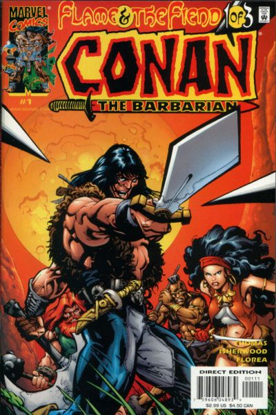 Conan: Flame and the Fiend Vol 1 1