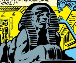 Great Sphinx (Rama-Tut's Creation) from Fantastic Four Vol 1 19 0001.jpg