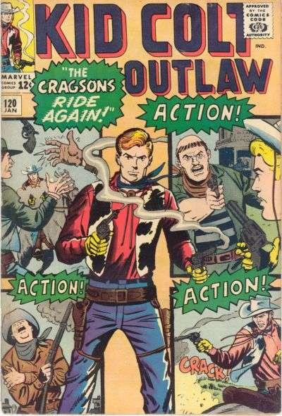 Kid Colt Outlaw Vol 1 120