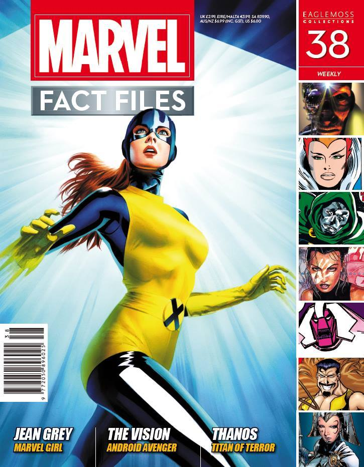 Marvel Fact Files Vol 1 38