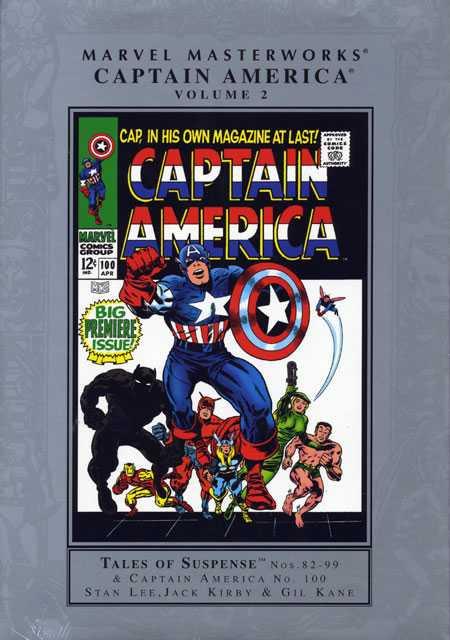 Marvel Masterworks: Captain America Vol 1 2