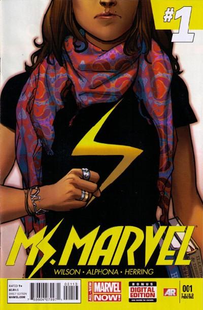 Ms. Marvel Vol 3 1 3rd Printing Variant.jpg