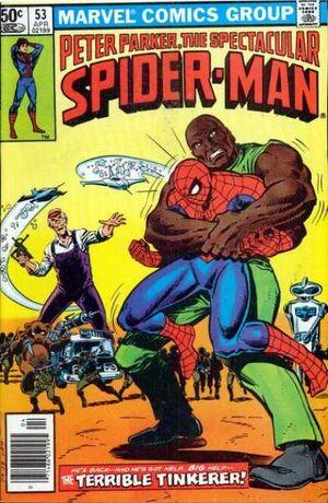 Peter Parker, The Spectacular Spider-Man Vol 1 53.jpg
