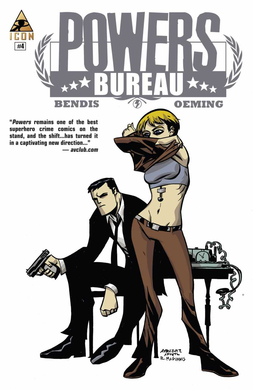 Powers: Bureau Vol 1 4