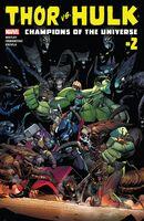 Thor vs. Hulk Champions of the Universe Vol 1 2