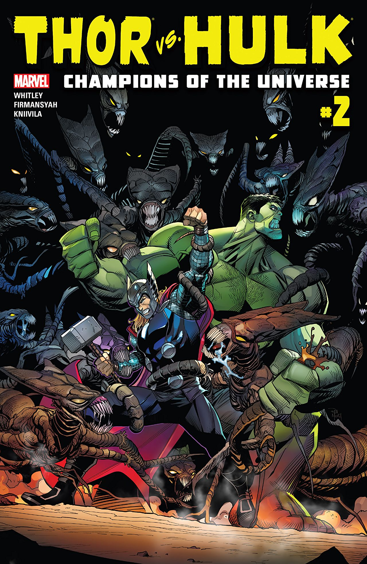 Thor vs. Hulk: Champions of the Universe Vol 1 2