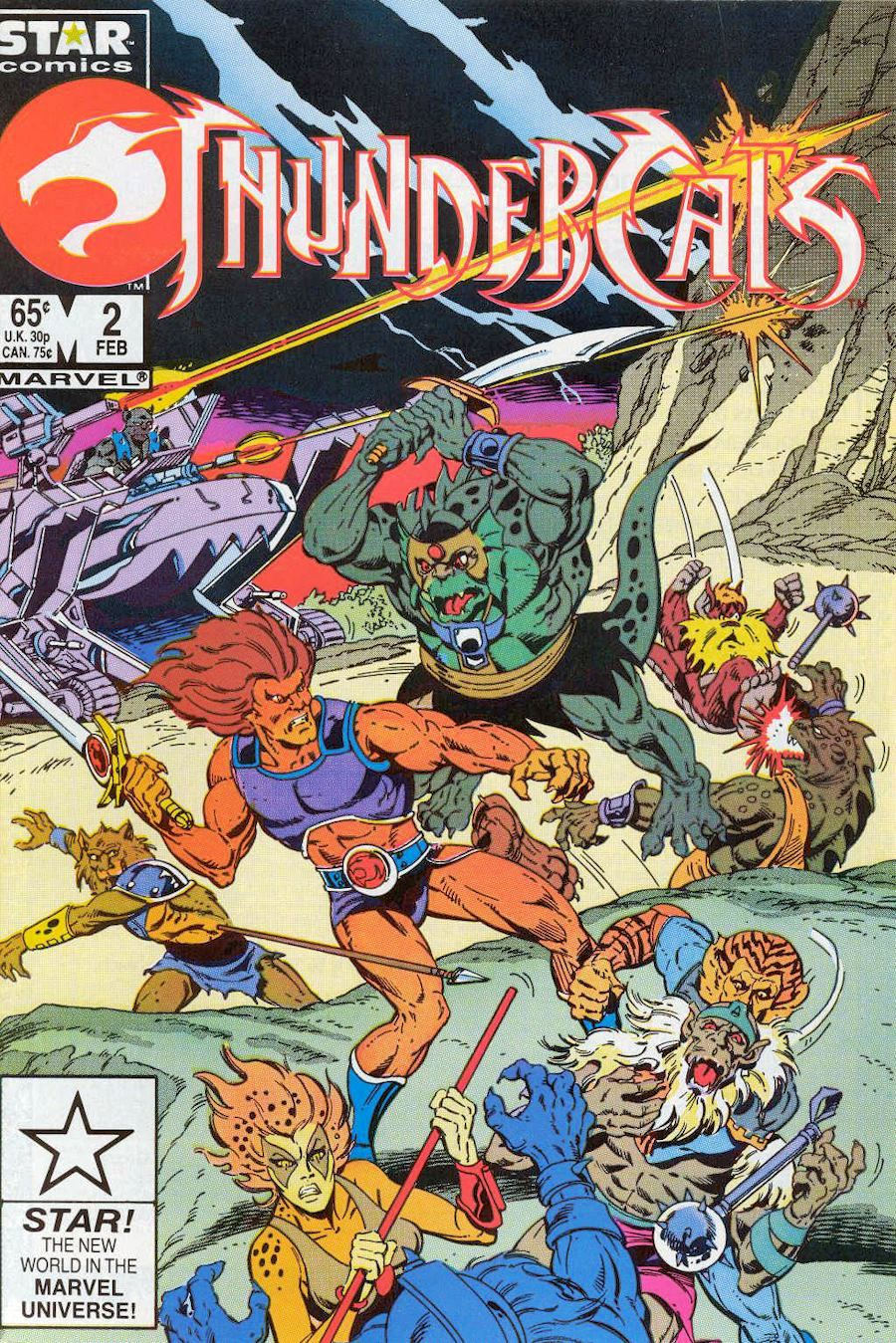 ThunderCats Vol 1 2