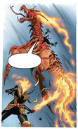 War (First Horsemen) (Earth-616) and Solem (Earth-616) with Horsemen's Steeds from Wolverine Vol 7 7 001