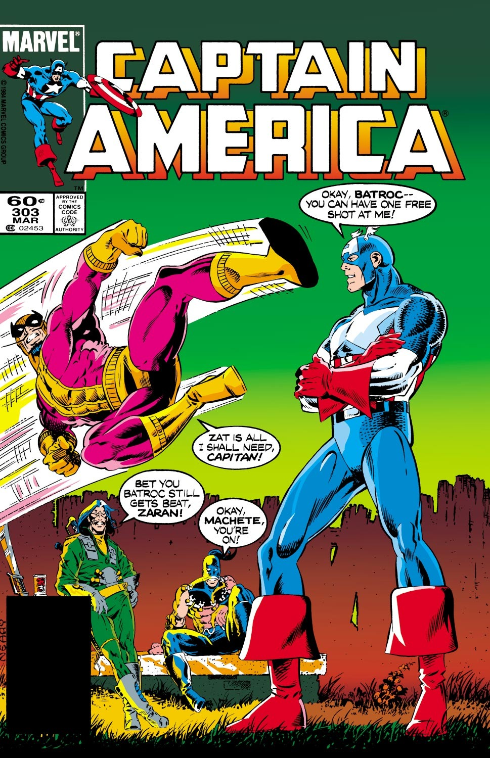 Captain America Vol 1 303