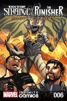Doctor Strange Punisher Magic Bullets Infinite Comic Vol 1 6
