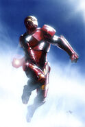 Invincible Iron Man Vol 2 4 Dell'Otto Variant Textless
