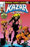 Ka-Zar the Savage Vol 1 1