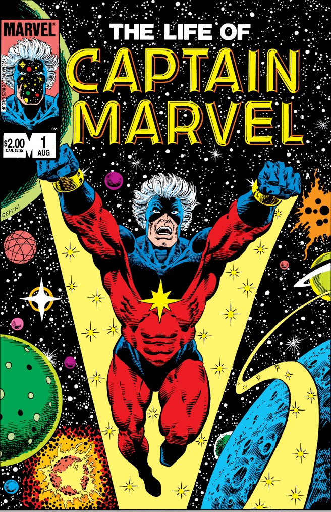 Life of Captain Marvel Vol 1 1