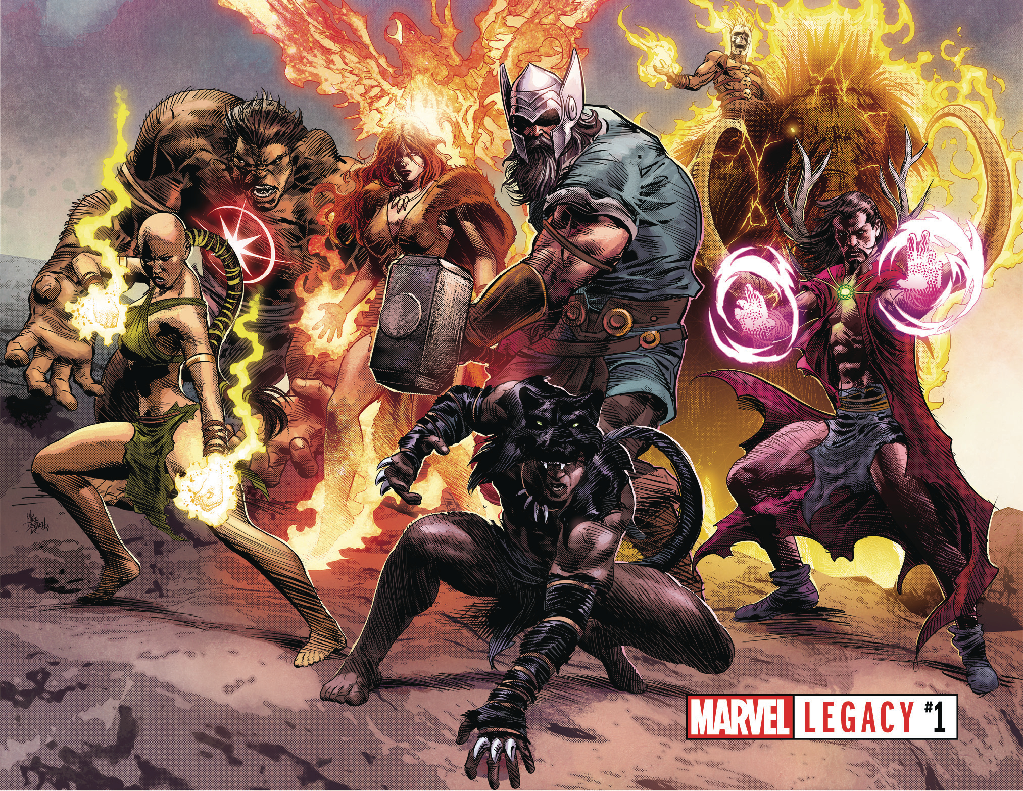 Avengers (1,000,000 BC) (Earth-616)/Gallery