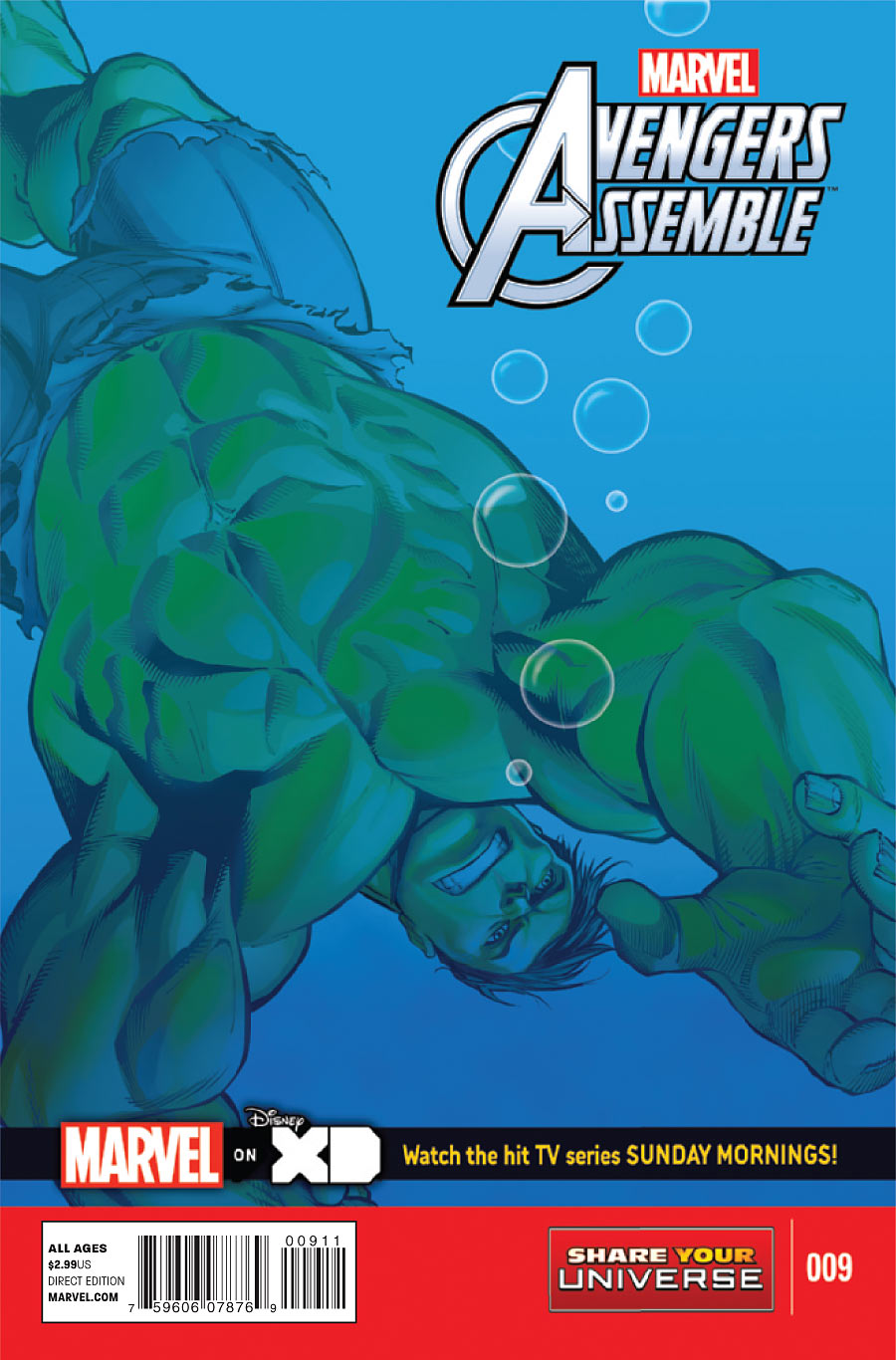 Marvel Universe: Avengers Assemble Vol 1 9